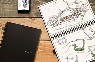 Water-to-Erase and reusable notebook