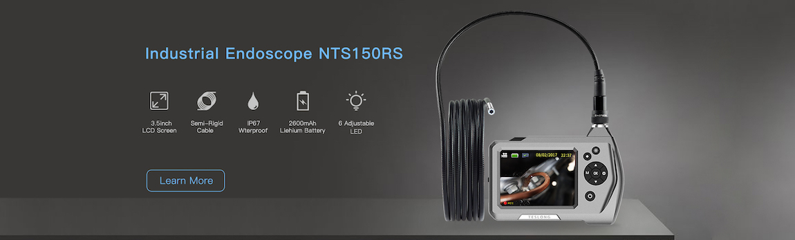 Borescope with Wi-Fi, USB or Video Endoscopes