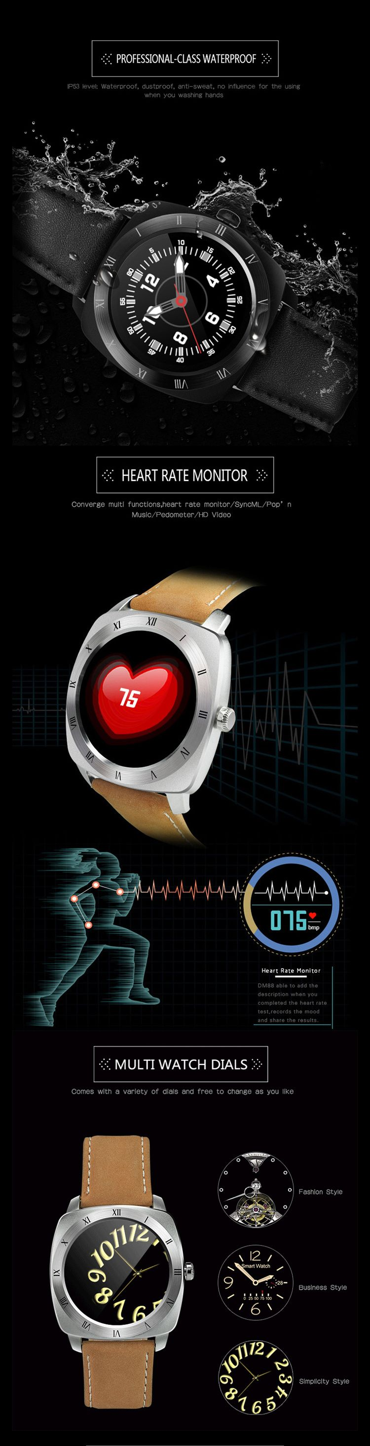 DM88 Smart Watch