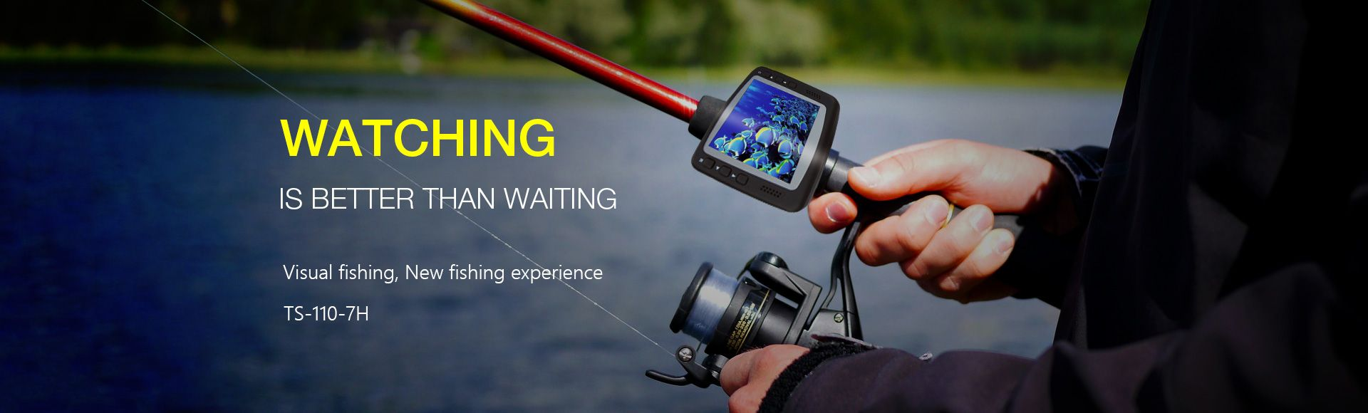 Saful Intelligent Surveillance Cameras Fishing Suits - Watching is better than waiting Offering you a different fishing experience