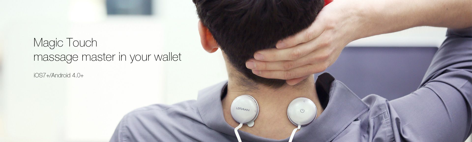 Leravan Mobile Intelligent Massage Master - Magic touch massage master in your wallet