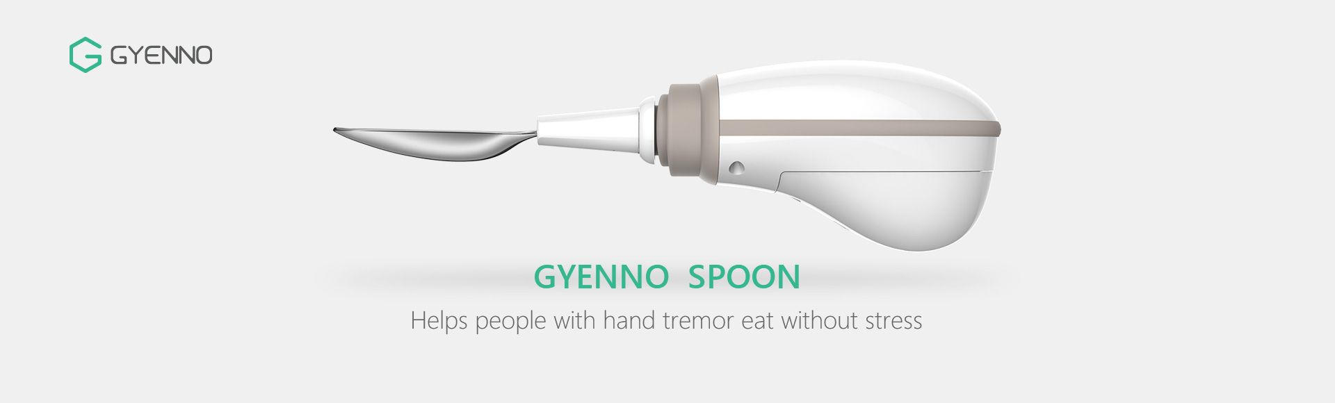 GYENNO Spoon - Comfortable Safe Intelligent Control Anti-tremor To Prevent The Hand Tremor For Old Man Gift
