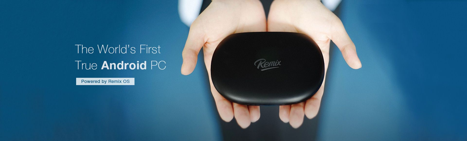 Remix Mini Android PC - The world's first true Android PC
