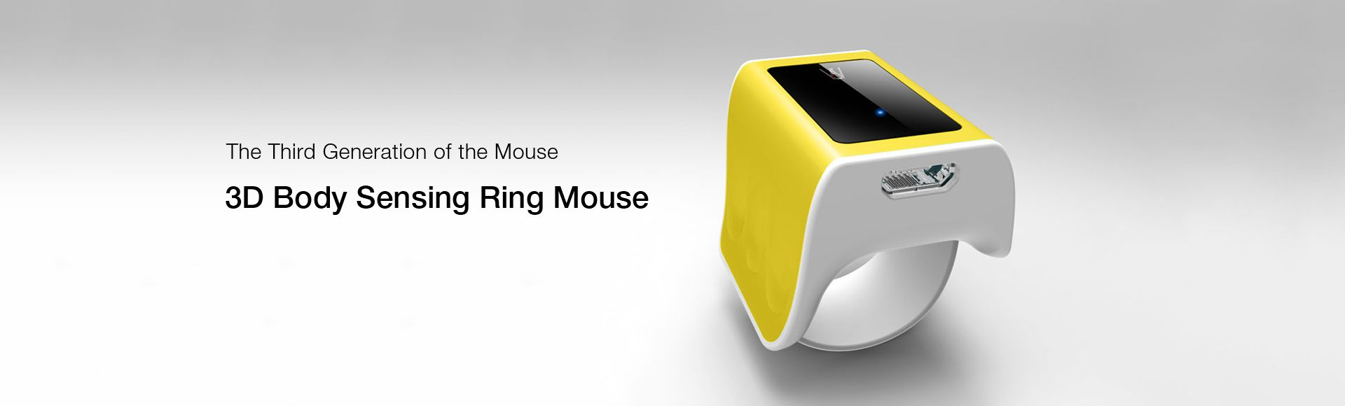 F-ONE 3D Body Sensing Ring Mouse - the third generation of the mouse