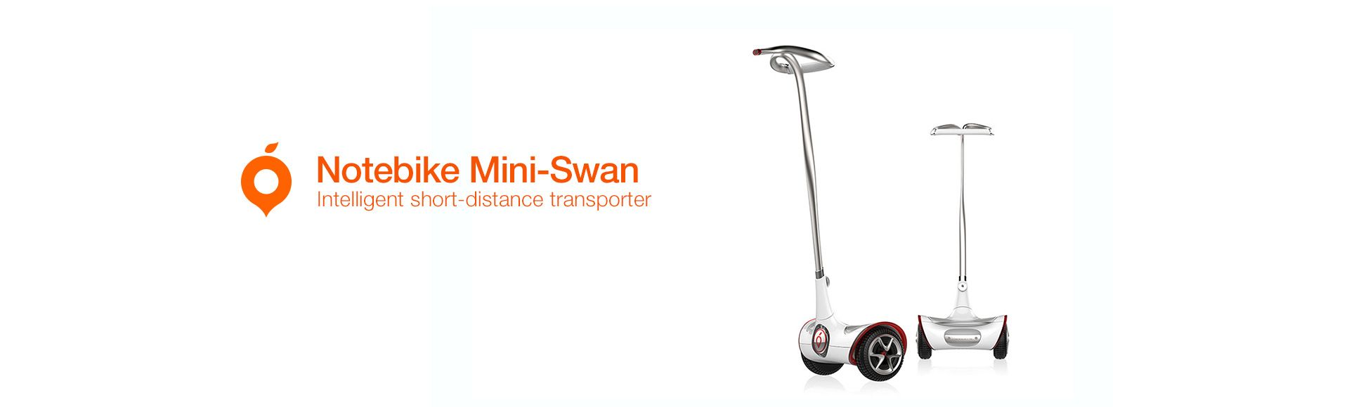 Notebike Mini-Swan - Intelligent short-distance transporter
