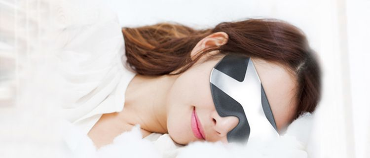 Magilit Intelligent Eye Masks - An intelligent eye masks with computer technology to help in better sleep quality
