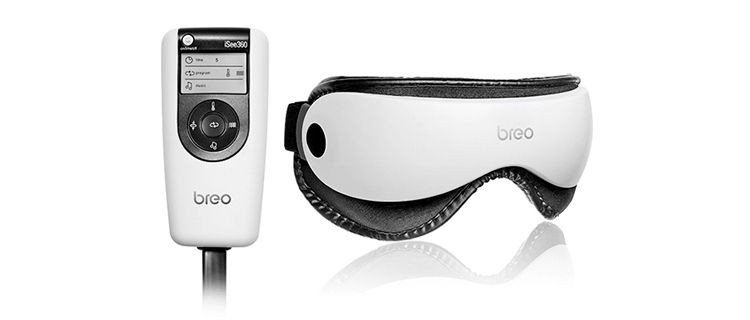 Breo iSee360 Eye Massager - air pressure vibrating eye massager