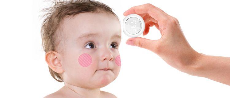 Baby Hero Smart Temperature Measurement - Anti-lost reminder sleep monitor for children
