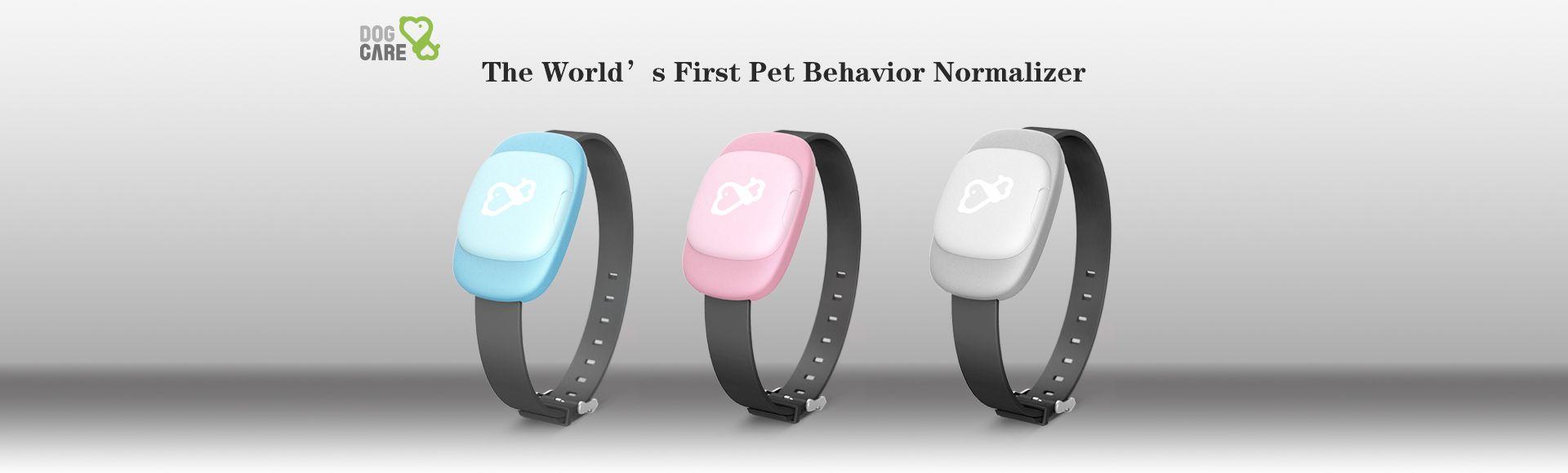 Dogcare Smart Training Collar - The world's first pet behavior normalizer
