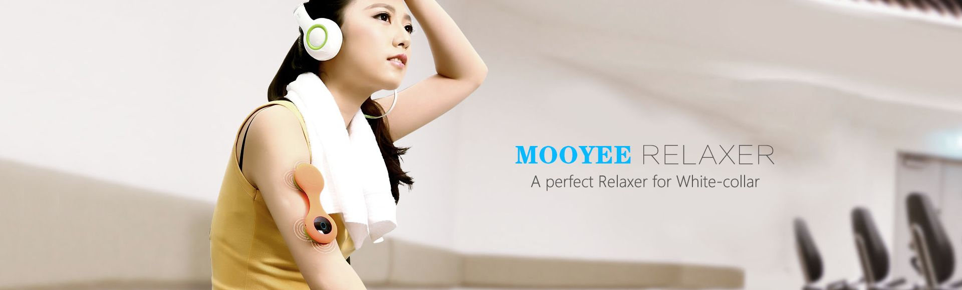 Mooyee Relaxer Back Neck Massager - Back Relaxer Smart Massager Relax your neck