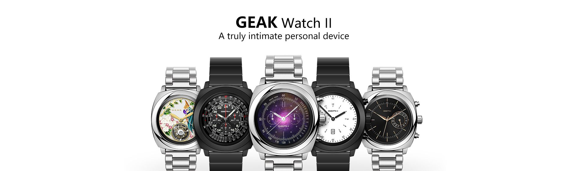 Geak Watch II - A truly intimate personal device