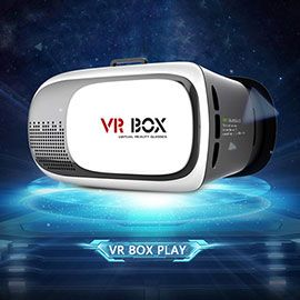 VR BOX 2.0  Virtual Reality 3D Glasses Game Movie 3D Glass For iPhone Android Mobile Phone Cinema