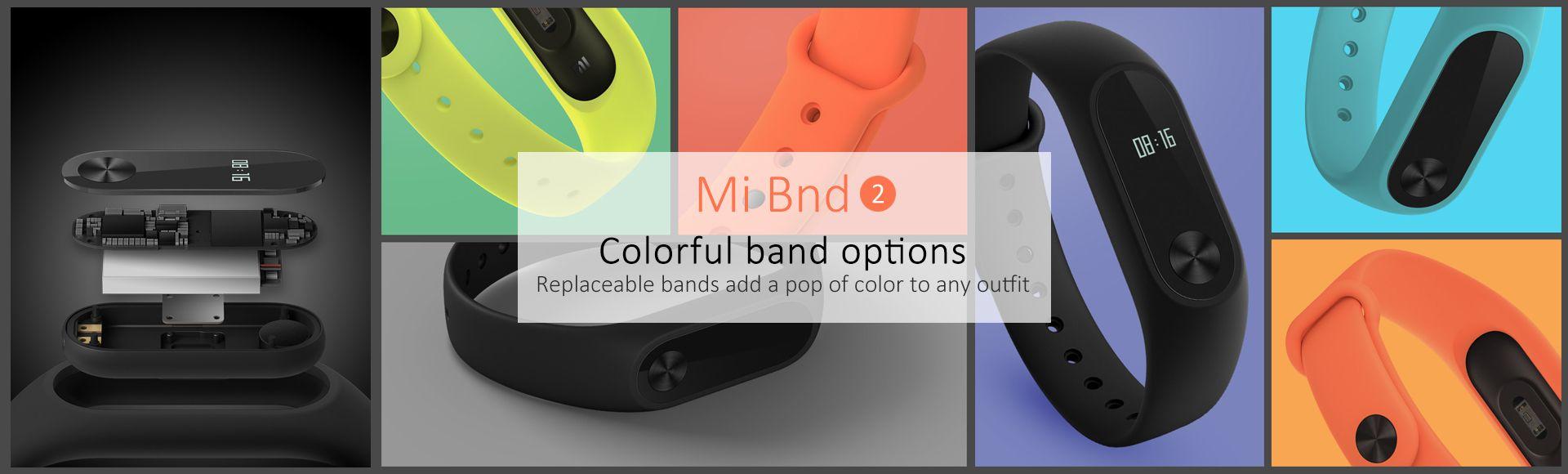 Xiaomi Mi Band 2 - Heart rate sensor Sleep monitor Step tracker