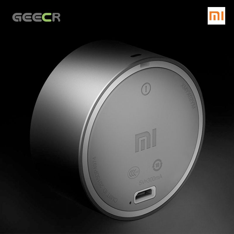 Xiaomi Portable Bluetooth Speaker - Metal Steel Hands Free For Mobilephone or Car