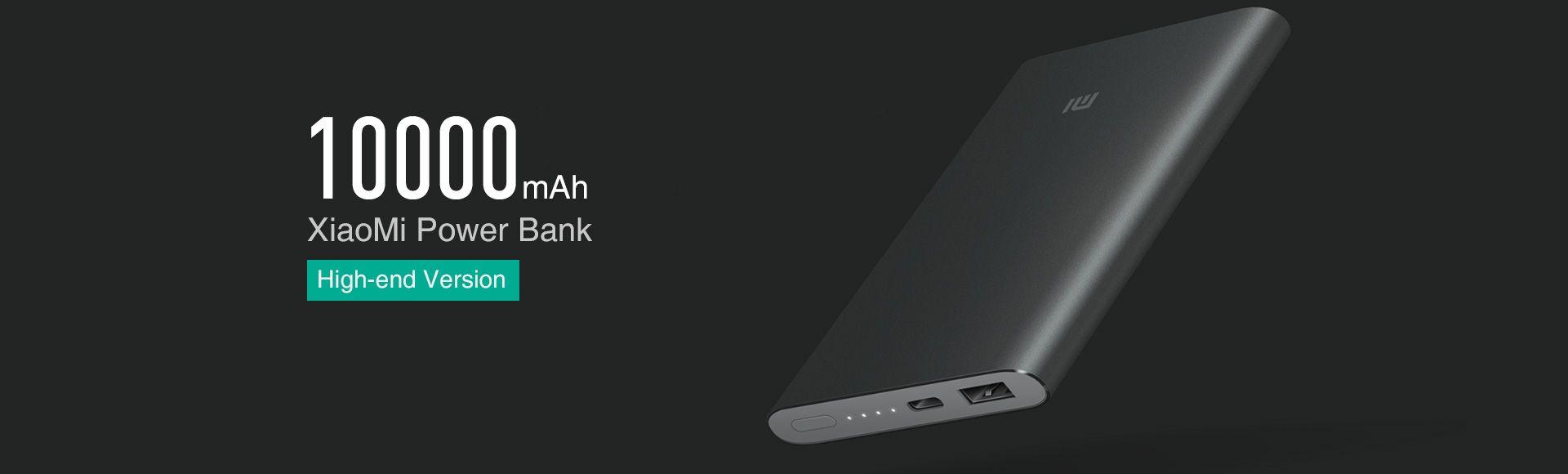 Xiaomi Mi Power Bank 10000mAh Type-C Black