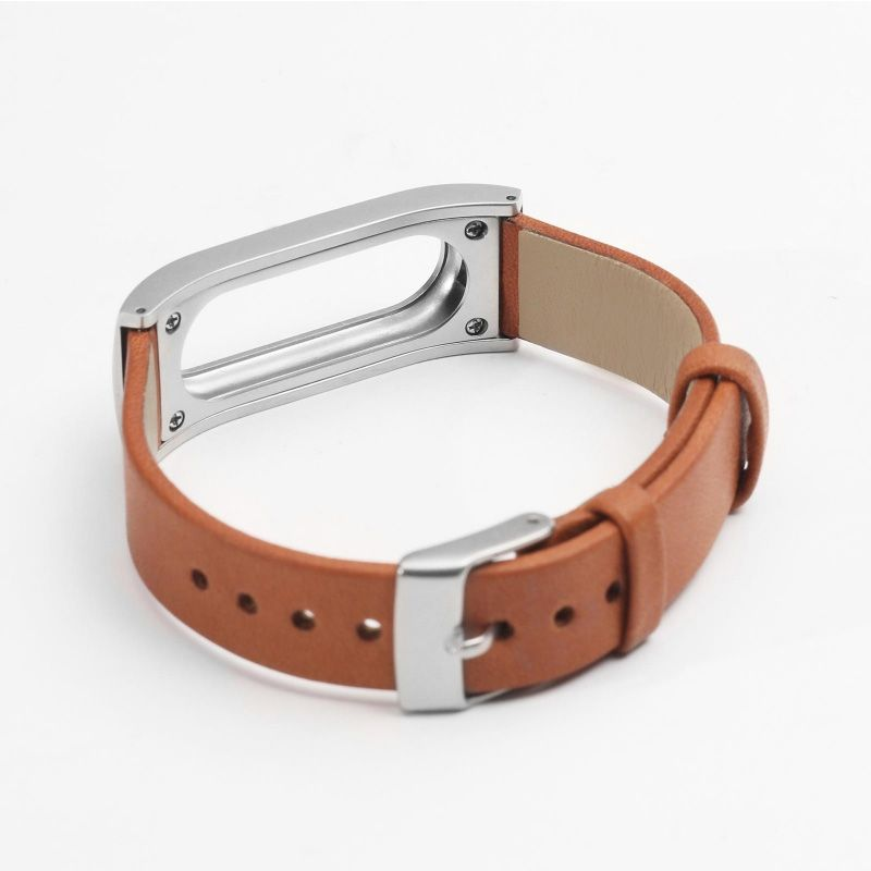 Xiaomi Mi Band 1 Leather Strap Brown