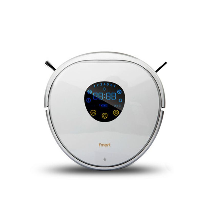 FMART YZ-N1 Smart Robot Vacuum Cleaner - With LCD Screen UV Lamp 750ml Container