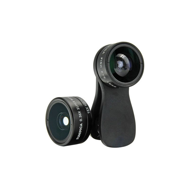 FUNIPICA F-516 Phone Camera - Lens 3-in-1 For Mobile Phone