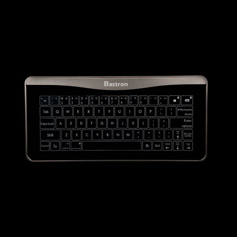 Bastron B6 Smart Glass Touch Keyboard  - Biggest technological innovation B6 with mouse gesture function