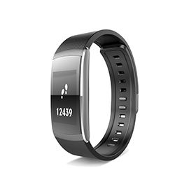 IWOWN i6 ROLL BAND - Heart Rate Activity Wristband with 0.73'' Touch screen Metal side edges