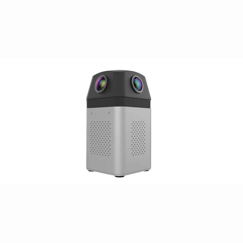 DETU F4 High Resolution Panoramic Camera - 4-Lens professional panorama camera More than 6K high-definition