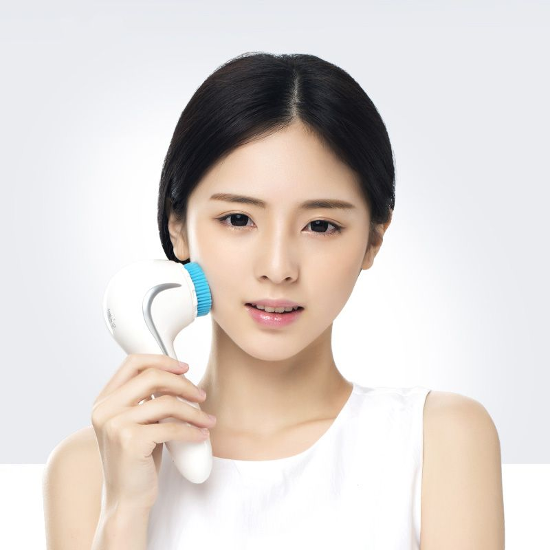 MUSHU Portable Sonic Facial Cleansing Brush