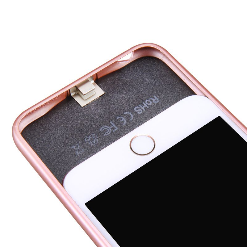 2500-3000mAh External Battery Backup Charging Case - Ultra Slim Rechargeable Power Bank For iPhone 6/6S iPhone 6 Plus/6S Plus