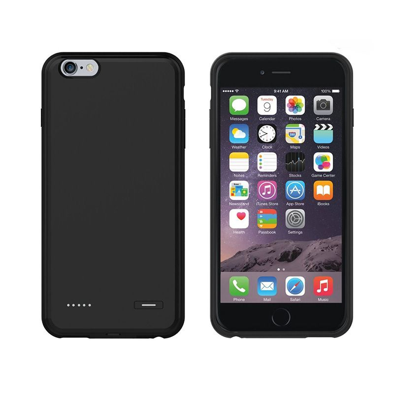 2500-3700mAh External Battery Backup Charging Case  -  Ultra Slim Rechargeable Power Bank For iPhone 6/6S iPhone 6 Plus/6S Plus