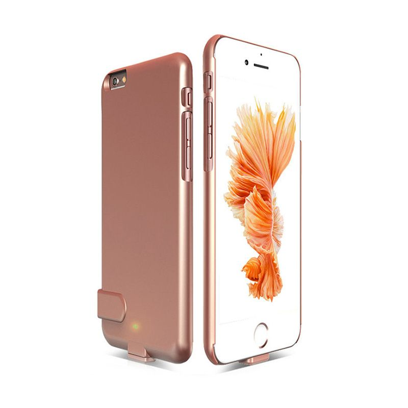 1500-2000mAh External Battery Backup Charging Case - Ultra Light With Removable lighting for iPhone 6/6S iPhone 6 Plus/6S Plus