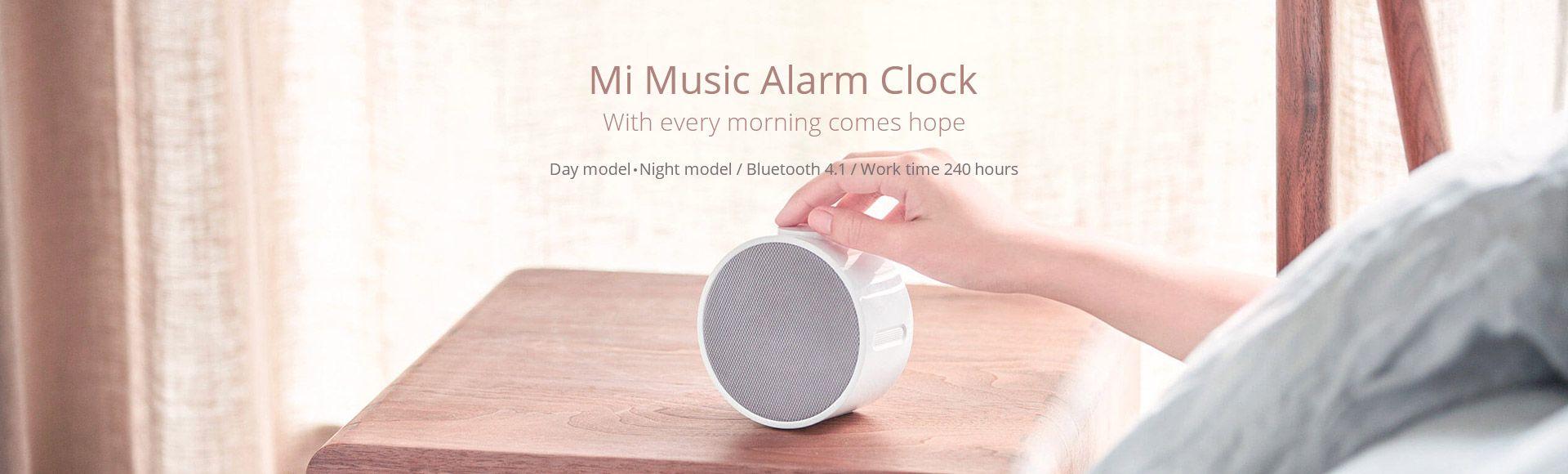 Xiaomi Mi Music Alarm Clock - Clock with speaker,Bluetooth 4.1,Day model/Night model
