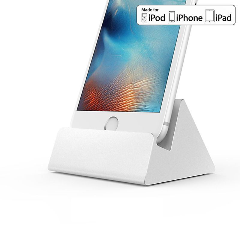iQunix Hima Apple Certified Charge Dock (Silver)