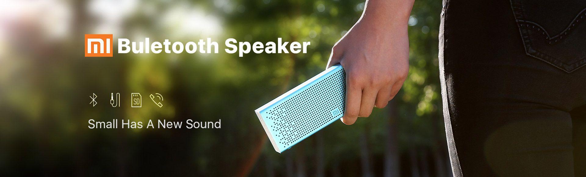 Xiaomi Mi Portable Wireless Bluetooth Speaker - Stereo Pocket Audio Support Handsfree TF Card AUX-in