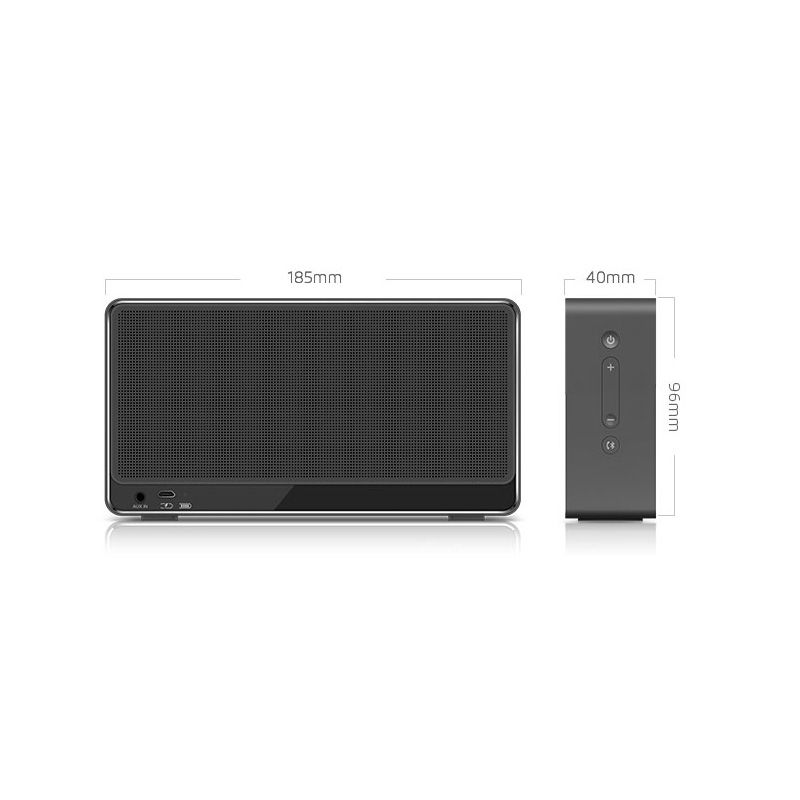 Meizu Lifeme BTS30 Portable Wireless Speaker - 2200mAh 2X5W AUX Hands-free Wireless Bluetooth 4.0 Speaker