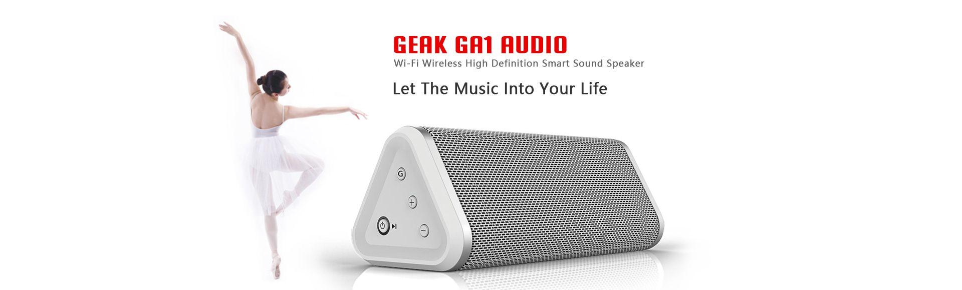 Geak Audio GA1 Smart WiFi Speaker - Wi-Fi Wireless High Definition Smart Sound Speaker