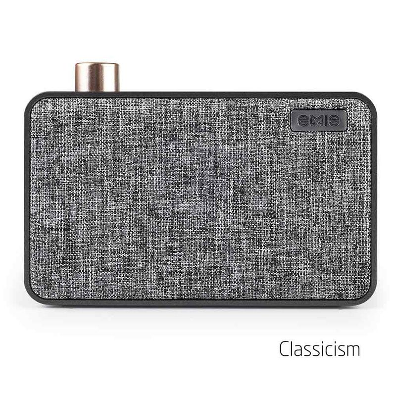 EMIE Canvas Bluetooth Speaker - for Home Car Audio Carro with Super Bass Stereo Subwoofer for Mobile Phone USB