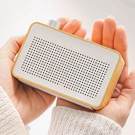 EMIE Radio Bluetooth Speaker - Radio-designed Home Speaker with Super Bass , Works with Apple iPhone , iPad , Samsung and More