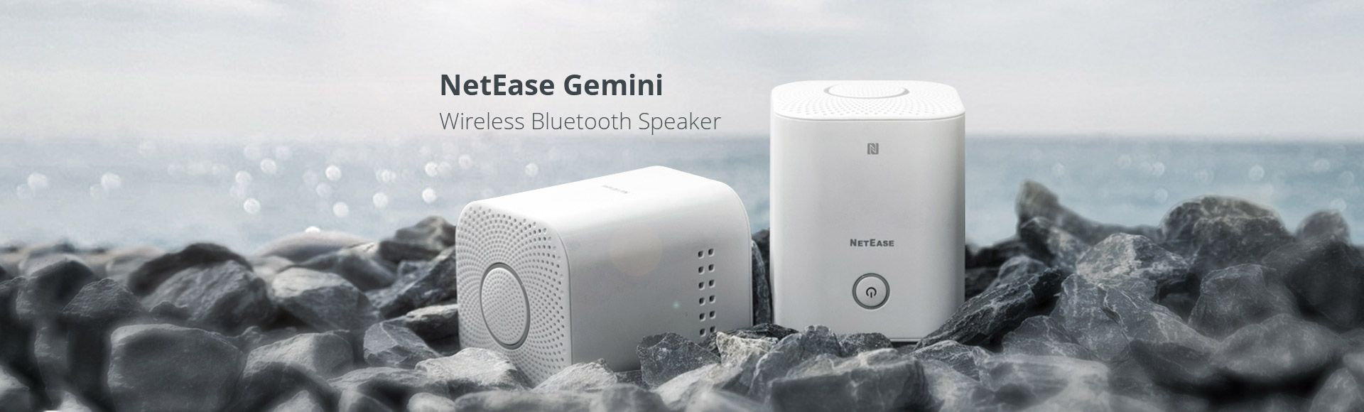 NetEase Gemini Wireless Bluetooth Speaker - HIFI sound connection Smart quick connection with super bass