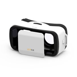 Leji Mini VR Box Virtual Reality Glasses 3D - VR helmet cardboard, Virtual reality gaming headset, For 4.7- 5.5 inches smartphones