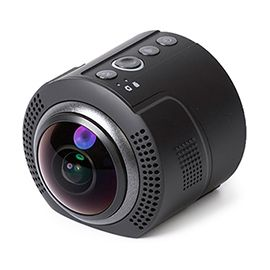 Detu Sphere S (SA801)  360 Degree Camrea VR Camera 360 video 4K SONY Sensor High-quality Ultra-wide-angle Fish-eye Lens High-speed Sports Mode