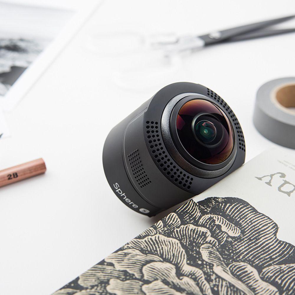 Detu Sphere S (SA801) -  360 Degree Camrea VR Camera 360 video 4K SONY Sensor High-quality Ultra-wide-angle Fish-eye Lens High-speed Sports Mode