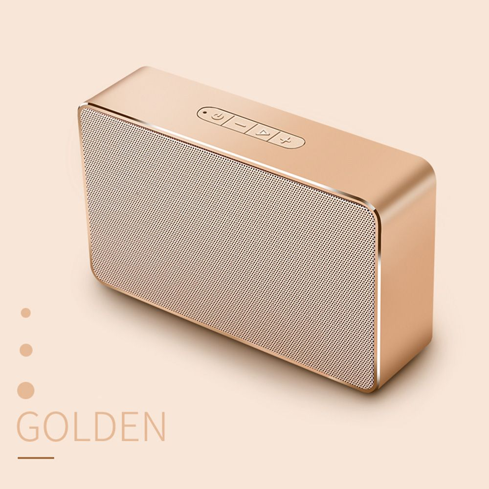 Joyroom M6 Portable Bluetooth Speaker - Mini Bluetooth Speaker Subwoofer Home Audio Support TF Card and USB Flash Disk