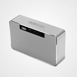 Joyroom M6 Portable Bluetooth Speaker with Double Loudspeakers - High Volume Hifi Subwoofer Power Bluetooth Speaker Support TF Card and USB Flash Disk for Outdoor Party
