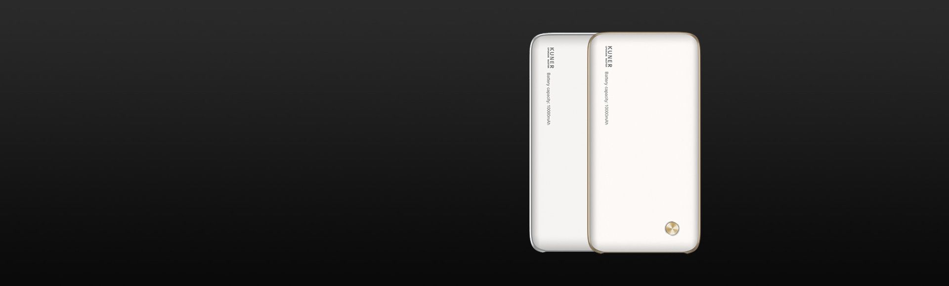 Kuner Smart Power Bank 10000mAh - Extended Internal Memory External Battery Charger Support 2GB-256GB TF Card VR Play Fits for Window iOS Android MacOS System