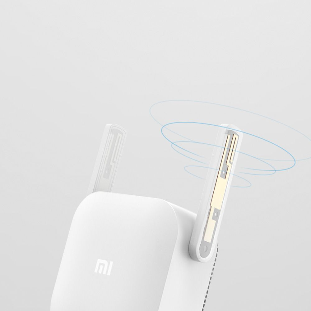 Xiaomi PLC Mi Power Line Communication - WiFi Range Extender with 300Mbps Transfer Speed 2.4GHZ Band 2*2 External Antennas