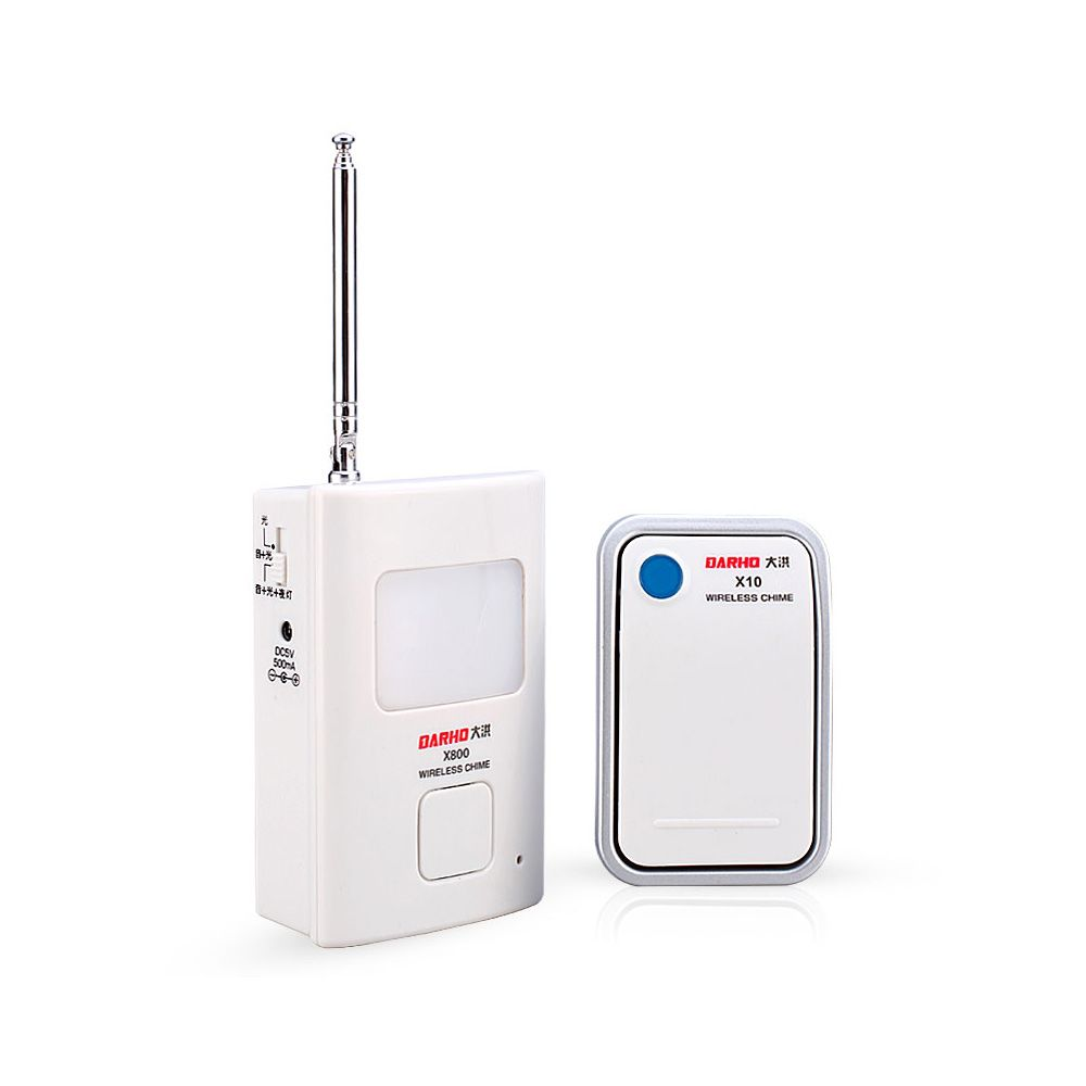 DARHO DH-810 Wireless DoorBell - with 35 Chimes 36 Melody Home Smart Alarm + Push Button