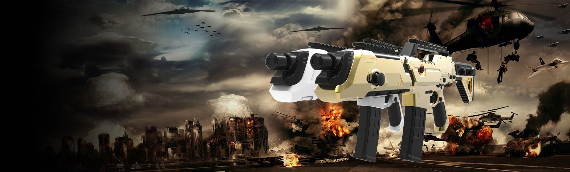 PP GUN - A Gun-Shaped Controller for FPS Game Supporting Mobile Devices, Oculus