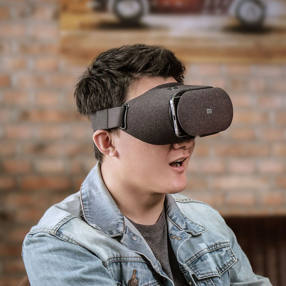 Xiaomi Mi VR Play 2 - New comfortable material, 3D IMAX theater, Invisible cooling hole