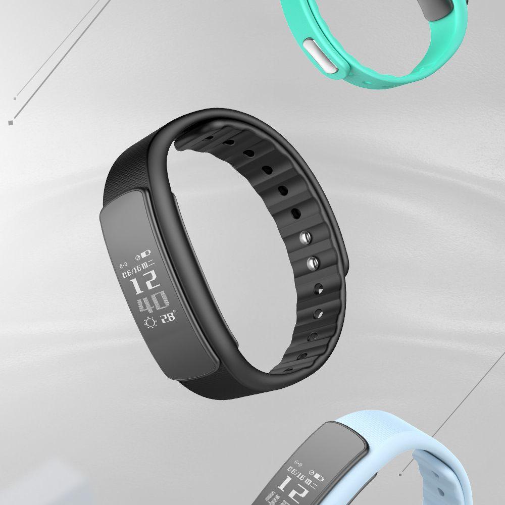 iWOWN i6 HR Smart Bracelet - Heart rate sensor Auto recognize exercises types Message push