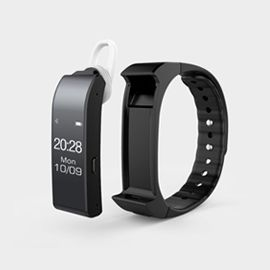 iWOWN V6 Voice & Sports Smartband - Voice calls Info notifying Health management