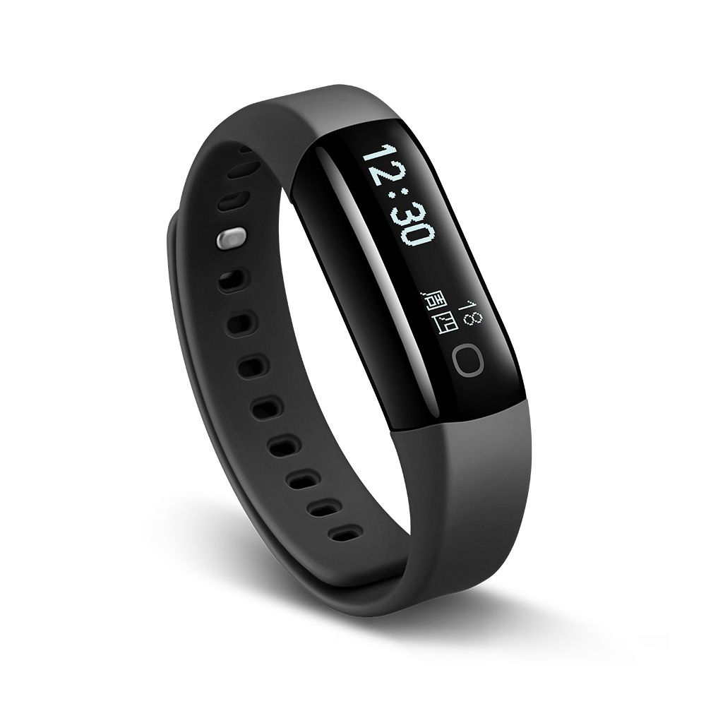Lifesense Mambo2 Smart Bracelet -  IP68 waterproof, Pedometer, Heart rate monitor